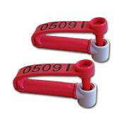 HandyMan Replacement Double Tags (Red)
